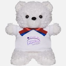 World's Best Great Grandma (purple) Teddy Bear