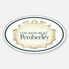 Pemberley Logo Autosticker