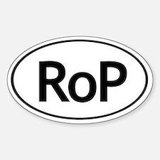 RoP Oval Autosticker