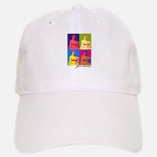 Jane Austen Pop Art Baseball Baseball Cap