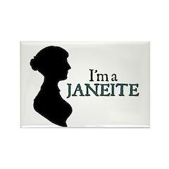 Jane Austen Janeite 1 Rectangle Magnet