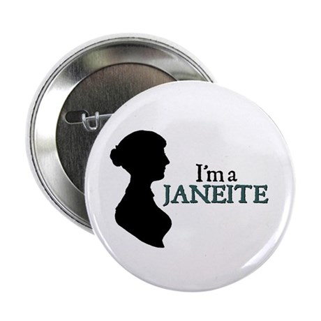 Jane Austen Janeite 3 Button