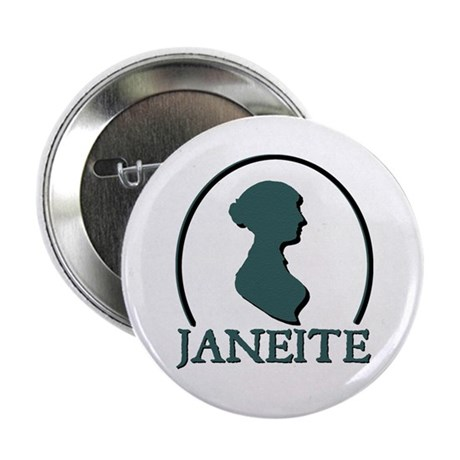 Jane Austen Janeite 2 Button