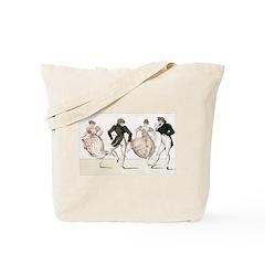 Regency Dancers Tote Bag