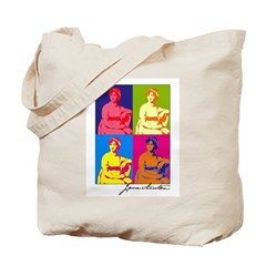 Jane Austen Pop Art Tote Bag