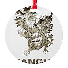 Vintage Shanghai Dragon Ornament