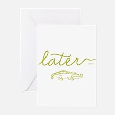 Later Alligator Greeting Cards (Pk of 10)