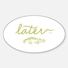 Later Alligator Decal