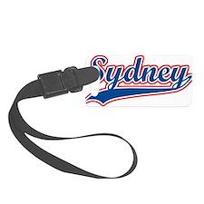 Retro Sydney Small Luggage Tag