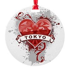 Heart Tokyo Ornament