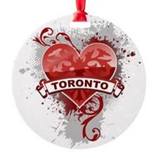 Heart Toronto Ornament