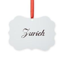 Vintage Zurich Ornament