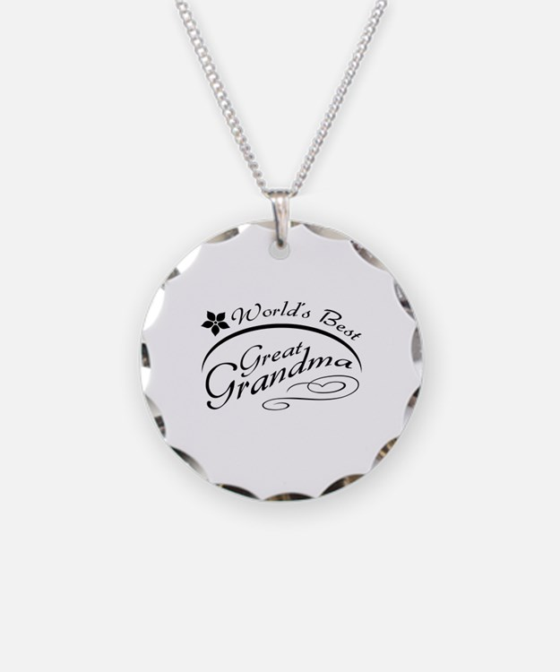 World's Best Great Grandma Necklace