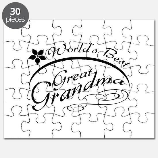 World's Best Great Grandma Puzzle