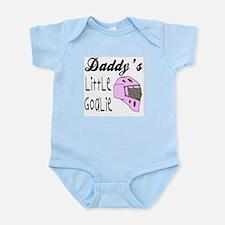 Daddy's Goalie for Girls Infant Creeper