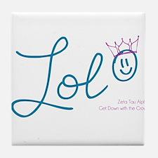 ZTA LOL Tile Coaster