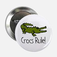 Crocs Rule! Button