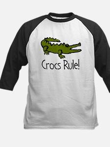 Crocs Rule! Kids Baseball Jersey