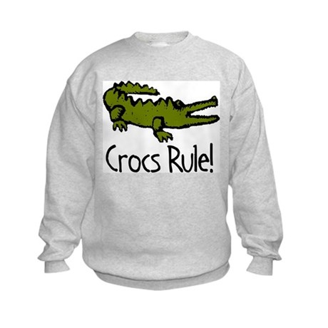 Crocs Rule! Kids Sweatshirt