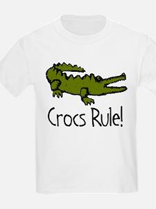 Crocs Rule! Kids T-Shirt