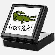 Crocs Rule! Keepsake Box