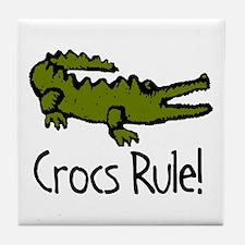 Crocs Rule! Tile Coaster