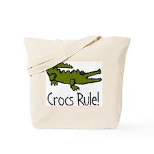 Crocs Rule! Tote Bag
