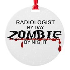 Radiologist Zombie Ornament