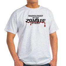 Radiologist Zombie T-Shirt