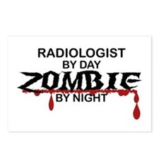 Radiologist Zombie Postcards (Package of 8)