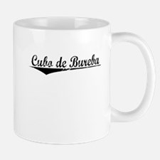 Cubo de Bureba, Aged, Mug