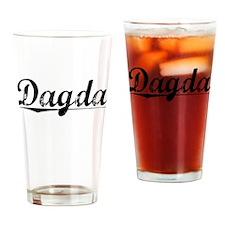 Dagda, Aged, Drinking Glass