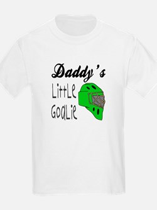 Daddy's Goalie for Boys Kids T-Shirt