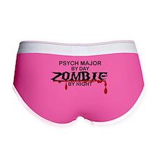 Psych Major Zombie Women's Boy Brief