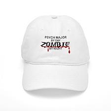Psych Major Zombie Baseball Cap