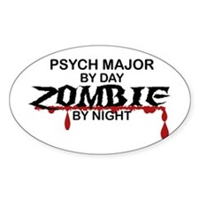 Psych Major Zombie Decal