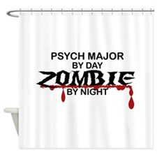 Psych Major Zombie Shower Curtain