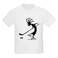 Kokopelli Hockey Player Kids T-Shirt