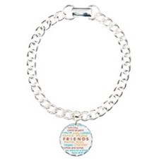 Friends TV Show Charm Bracelet, One Charm