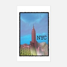 NYC Rectangle Decal