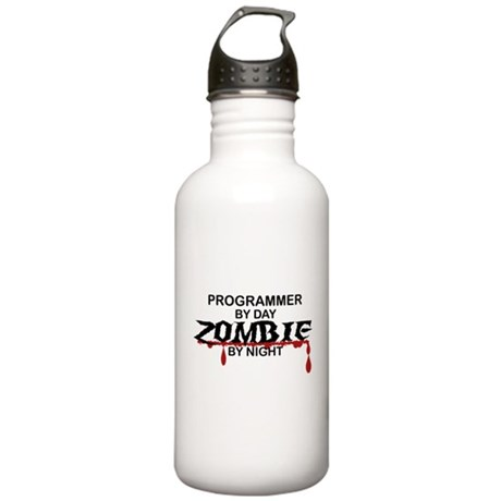 Programmer Zombie Stainless Water Bottle 1.0L