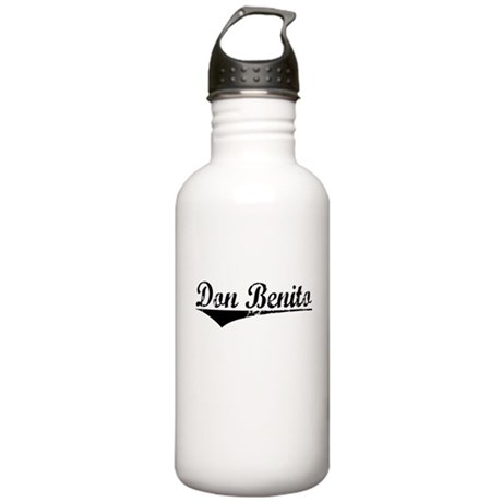 Don Benito, Aged, Stainless Water Bottle 1.0L