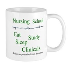 Cute Eat sleep study Mug