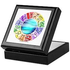 Zodiac Keepsake Box