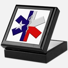 Texas EMT Keepsake Box
