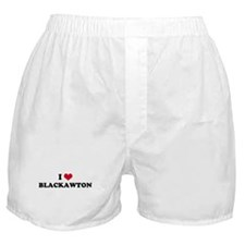 I HEART BLACKAWTON  Boxer Shorts