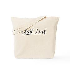 Efail Isaf, Aged, Tote Bag