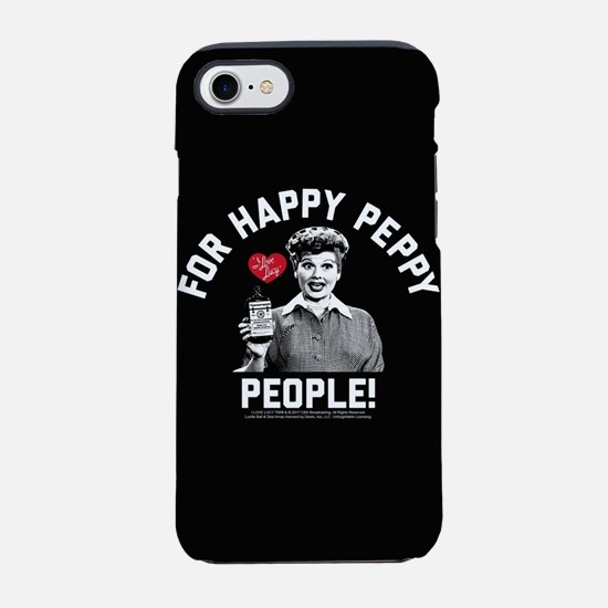 Lucy Happy Peppy People iPhone 7 Tough Case