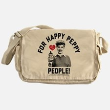 Lucy Happy Peppy People Messenger Bag