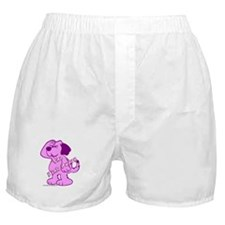 The Pink Puppy Boxer Shorts